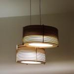 גופי תאורה מעוצבים - גוף תאורה תלוי מעץ - 22 על 35