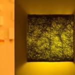 גופי תאורה מעוצבים-גופי תאורה על קיר-חומר טבעי